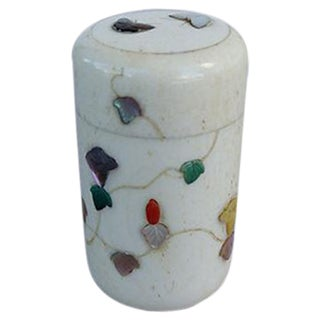 Polished Ivory Japanese Pill Box