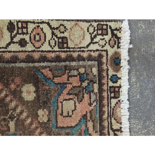 Vintage Hamadan Persian Rug - 1′11″ × 2′11″ - Image 7 of 9
