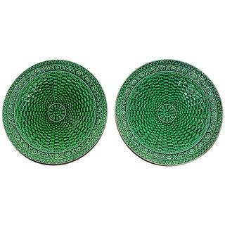 Majoilica Weave Plates - Pair