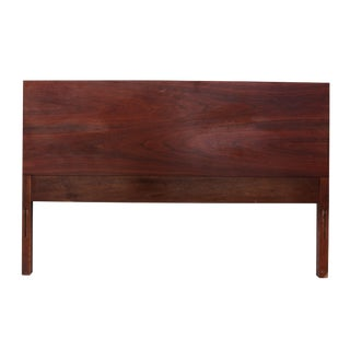 Minimalist Walnut Full Headboard