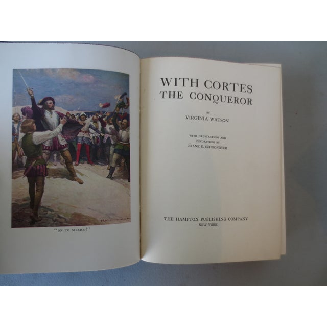 With Cortes the Conqueror, Illustrated 1st Edition - Image 4 of 7