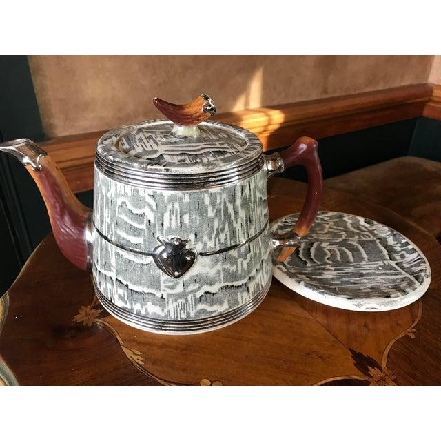 1930s Arthur Wood Silver Shield Teapot - Image 4 of 11