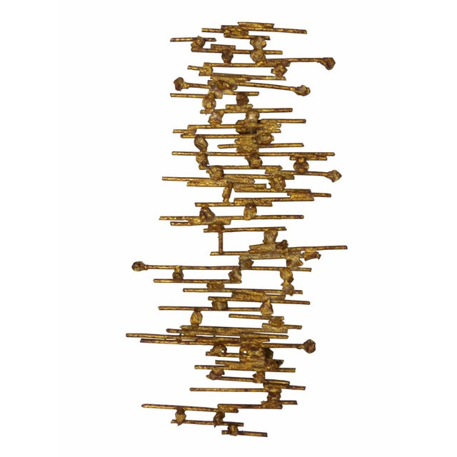 Brutalist Spanish Wall Sculpture - Image 2 of 8