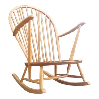 Lucian Ercolani for Ercol Mid Century Rocking Chair