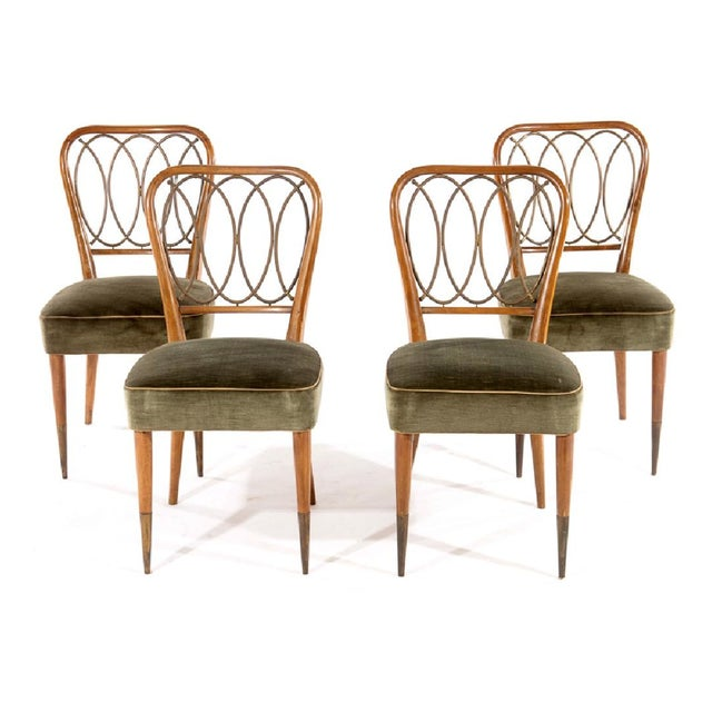 Gio Ponti Dining Chairs - Set of 4 - Image 2 of 5