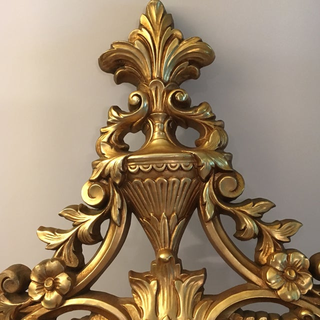 Burwood Products Gold Ornate Mirror - Image 7 of 8
