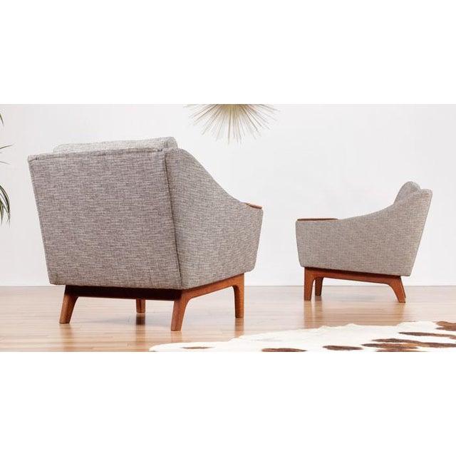 Image of Restored Mid-Century Danish Teak Arm Chairs