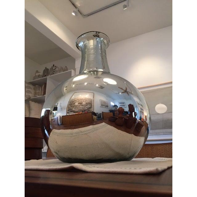 Silver Mercury Glass Vase - Image 3 of 4