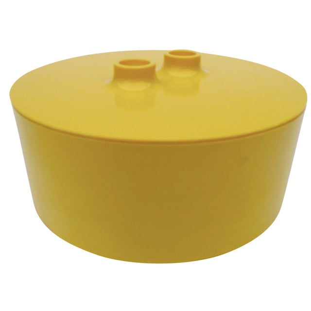 Massimo Vignelli Yellow Melamine Salad Bowl - Image 1 of 11