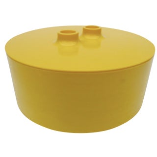 Massimo Vignelli Yellow Melamine Salad Bowl