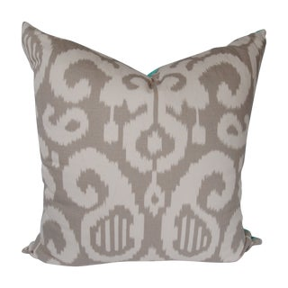 Custom Ikat Euro Pillows - A Pair