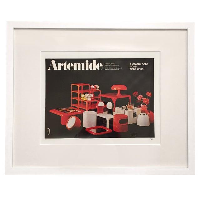 1969 Artemide Emilio Fioravant Advertisement - Image 1 of 5