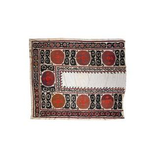 Vintage Rose & Cream Suzani Textile