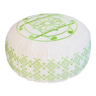 Green Selima Floor Pillow