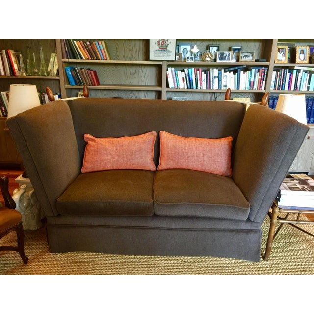 Knoll Brown Mohair Sofa - Image 2 of 7
