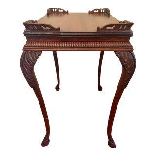 Mahogany Traditional Side Table