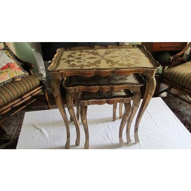 Image of Venetian Nesting Tables 1960s - S/3