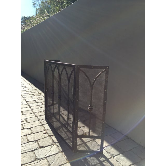 Image of Hand Wrought Fireplace Screen