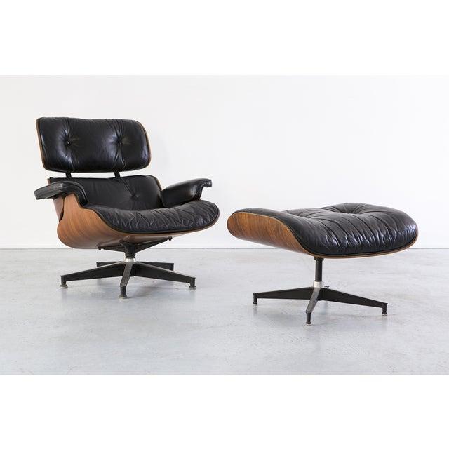 Image of Eames 670 + 671 Lounge Chair & Ottoman