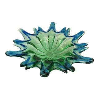 Flower-Shaped Murano Bowl