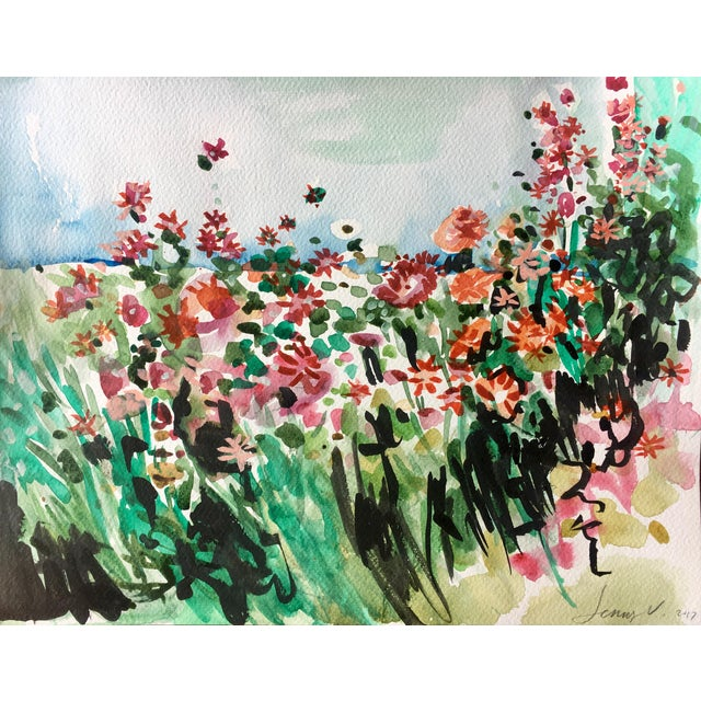 'Blossoming' Original Painting - Image 1 of 5