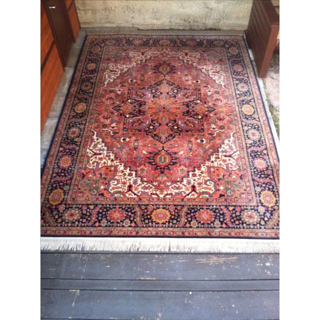 """Oriental Persian Wool Rug - 8'8"""" X 12' - Image 9 of 10"""