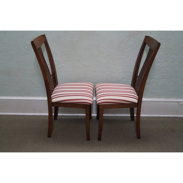Bermex Traditional Maple Wood Dining Chairs - 6 - Image 3 of 10
