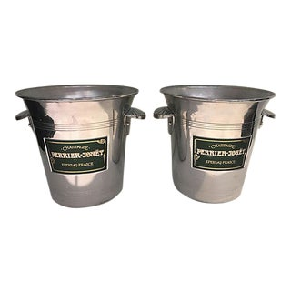 Perrier Jouet Champagne Buckets - A Pair
