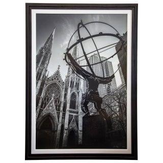 Signed Numbered Ny Atlas Photography by Sam Nizam