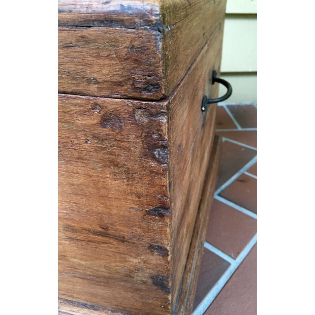 Image of Antique French Trunk