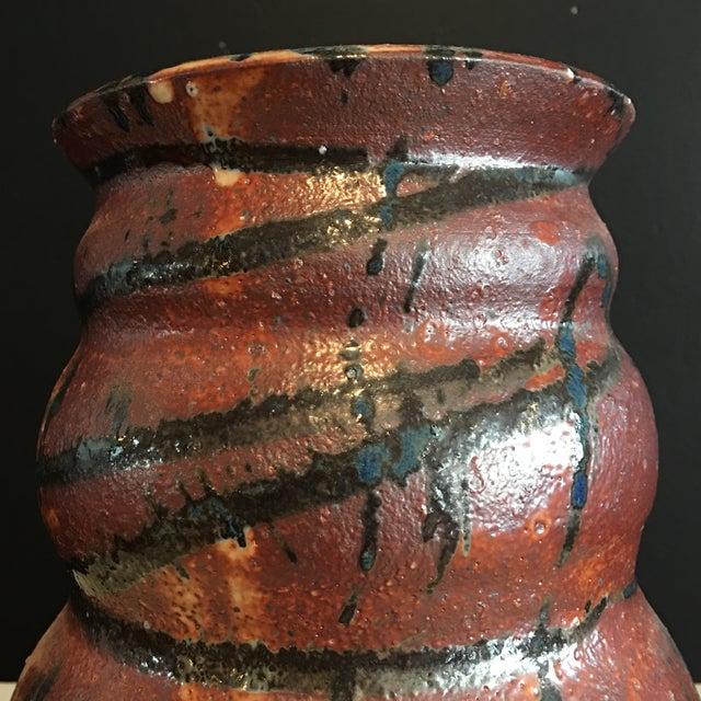 Stunning Signed Studio Glazed Pottery Vase - Image 5 of 7