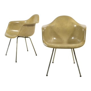 Pair of Eames SAX Armchairs by Zenith Plastics for Herman Miller