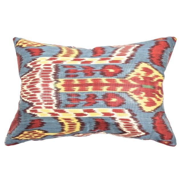 Silk Ikat Pillow - Image 1 of 2