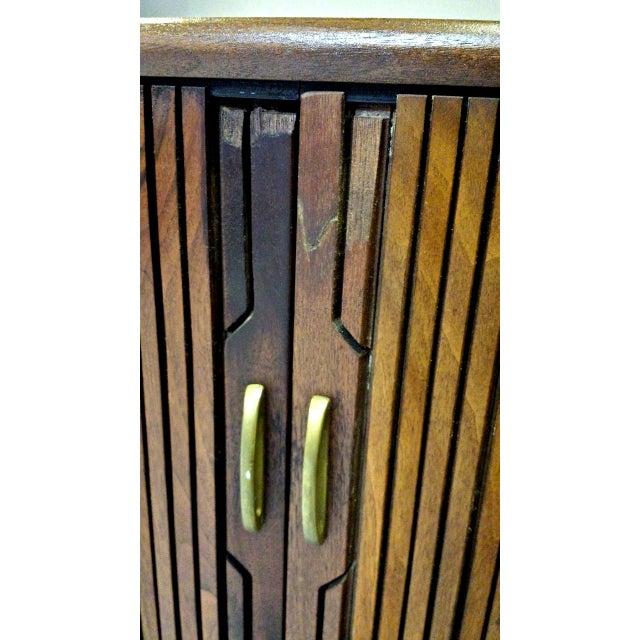 Kipp Stewart For Drexel Tambour Door High Chest - Image 10 of 10