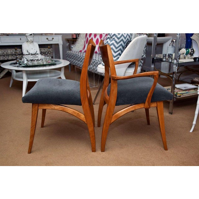 Set of Six Heywood-Wakefield Dining Chairs - Image 9 of 10