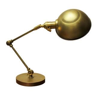 Hinged Brass Desk Lamp
