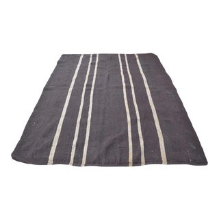 Vintage Turkish Kilim Rug - 6′5″ × 8′