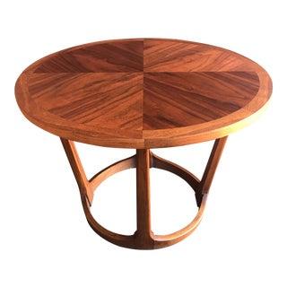 Mid-Century Modern Round Lane Side Table