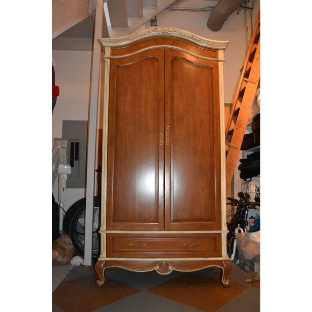 Image of French Heritage Wooden Laon Armoire