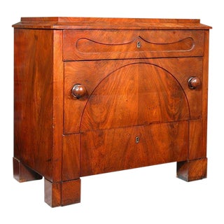 Mahogany Biedermeier Chest of Small Size