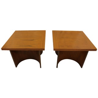 Mid Century Kroehler End Tables - Pair