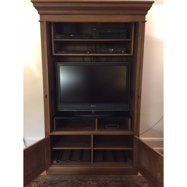 Ethan Allen Entertainment Center - Image 7 of 7