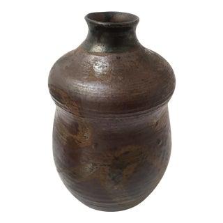 Brown Glazed Vessel