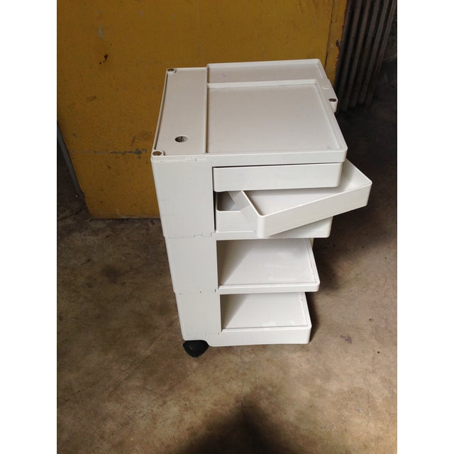 Image of Joe Columbo Office Organizer Rolling Cart