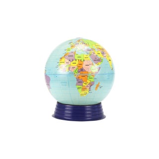 Vintage Large Simplified Cram's World Globe