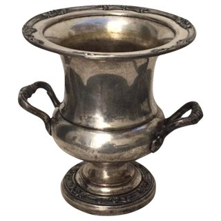 Vintage Silver-Plate Champagne Ice Bucket