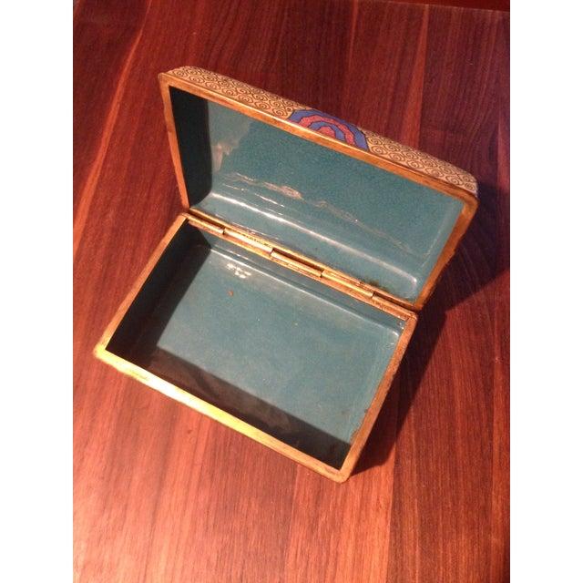 Vintage Cloisonne Box - Image 3 of 5