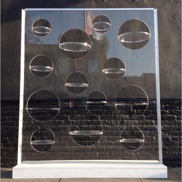 Modern Custom Lucite Display - Image 6 of 6