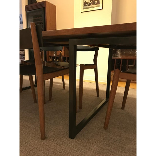 Miles may furniture works miles table 6 chairs for Furniture 8 mile