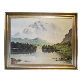Lake Weissensee, Germany Painting